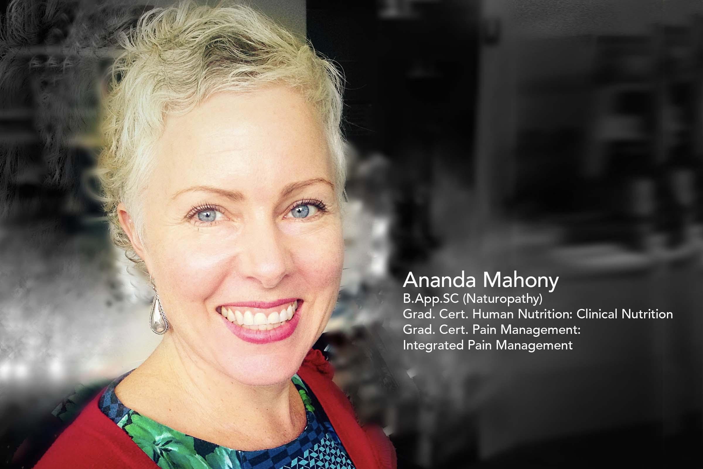 Ananda Mahony PainWISE Facilitator